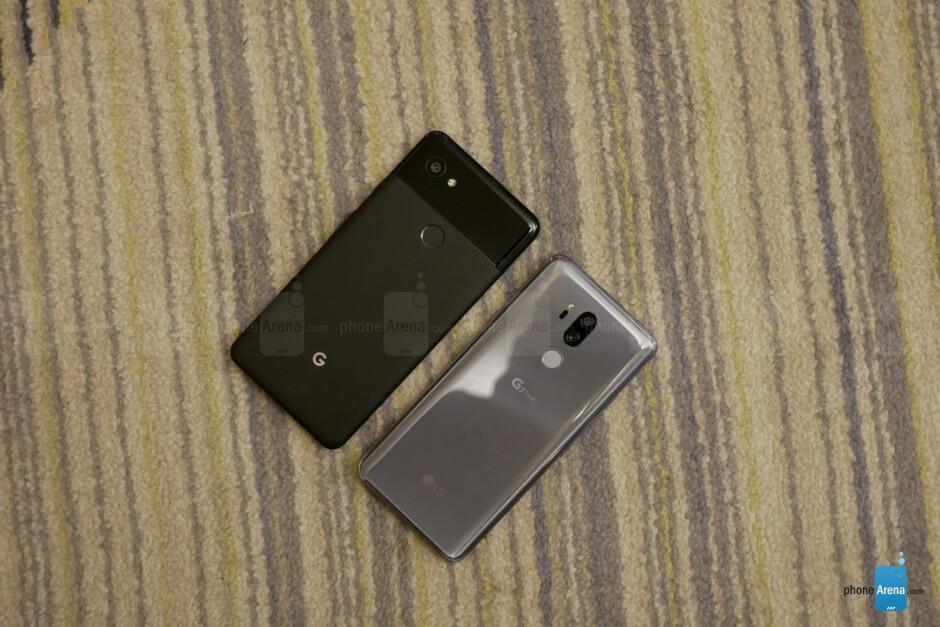 LG G7 ThinQ vs Google Pixel 2 XL: first look