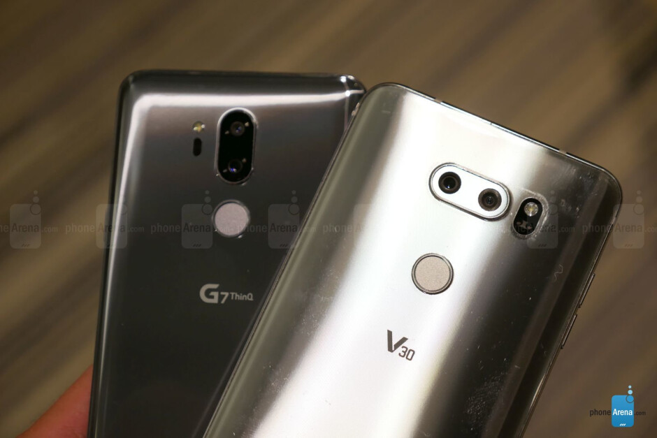 The G7 ThinQ with the V30 - LG G7 ThinQ vs LG G6: first look