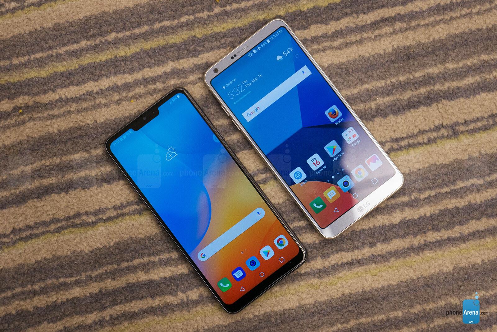 LG G7 ThinQ vs LG G6: first look | PhoneArena reviews