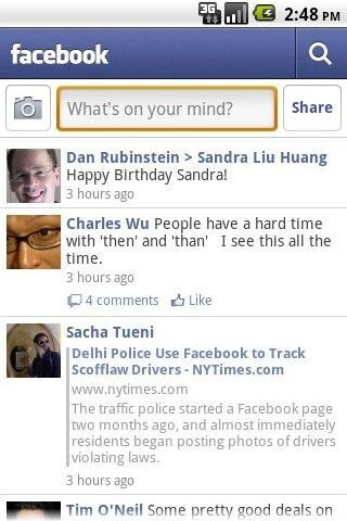 Many welcome enhancements in the new Facebook for Android