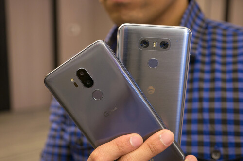 LG G7 ThinQ vs LG G6 first look