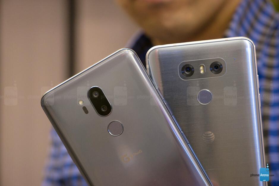 LG G7 ThinQ vs LG G6: first look