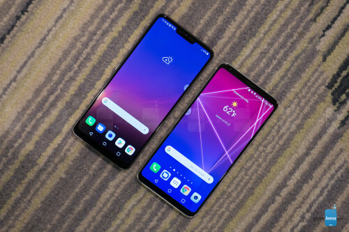 LG G7 ThinQ vs LG V30 first look