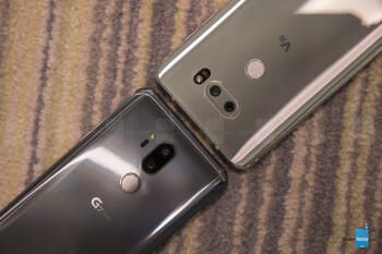 LG G7 ThinQ vs LG V30: first look