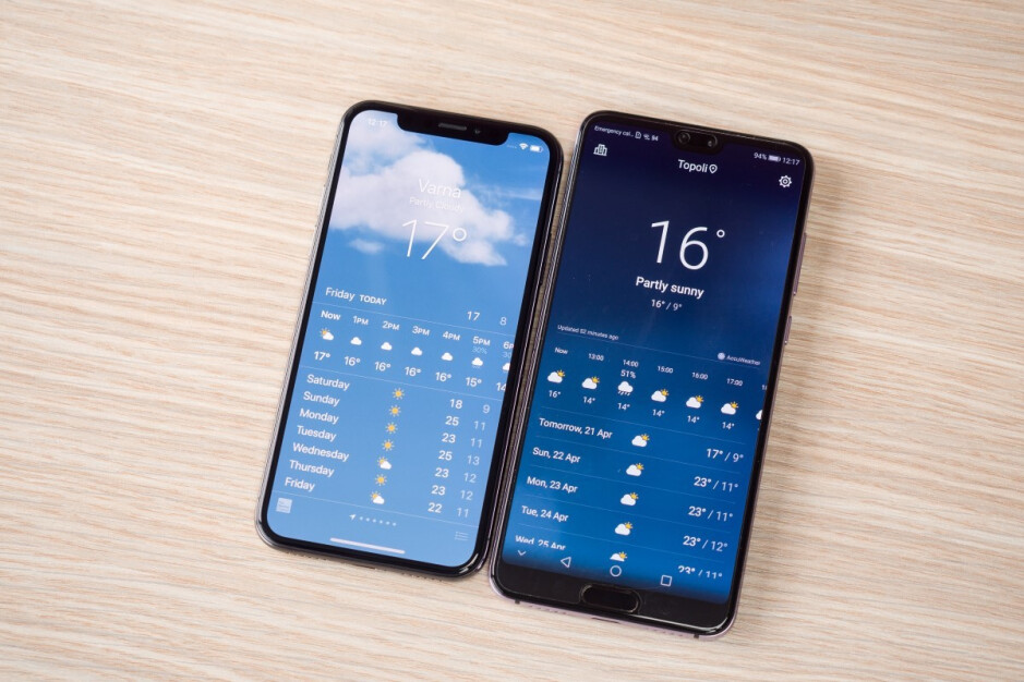 Huawei's flagship phone is a shameless iPhone X copy