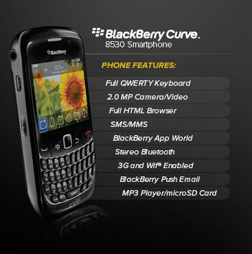 Cricket begins to take pre-orders for the BlackBerry Curve 8530