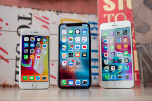 The iPhone X was the best selling phone in Q1, followed by iPhone 8 and iPhone 8 Plus