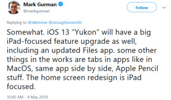 Bloomberg writer Mark Gurman reveals what we can expect from 2019's iOS 13