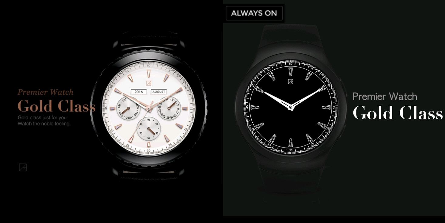 Check out these watchfaces for your Gear Sport, Gear S3, or Gear S2