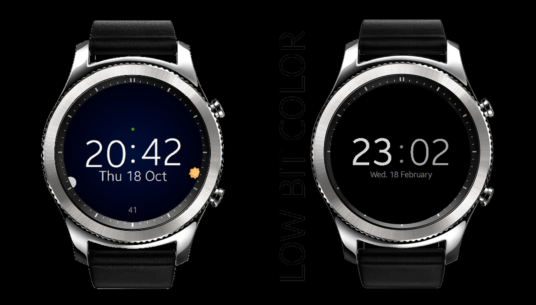 Check out these watchfaces for your Gear Sport, Gear S3, or