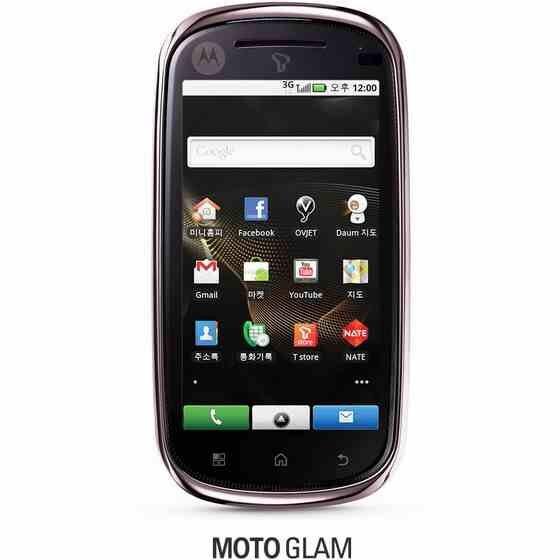 Motorola GLAM is ready to set foot in the Korean market