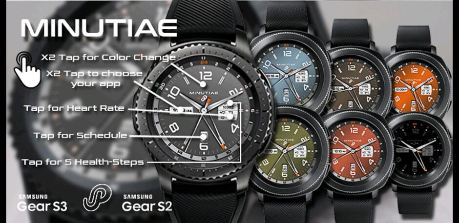30 of the best watchfaces for Samsung Gear Sport, Gear S3, Gear S2
