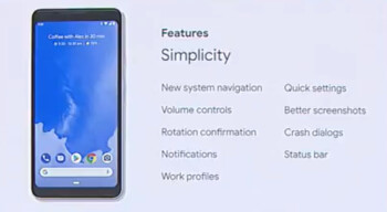 Google unveils Android P: new gesture-based interface!