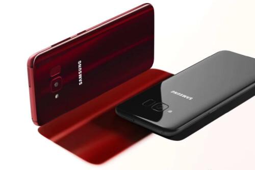 Samsung Galaxy S8 Lite press renders