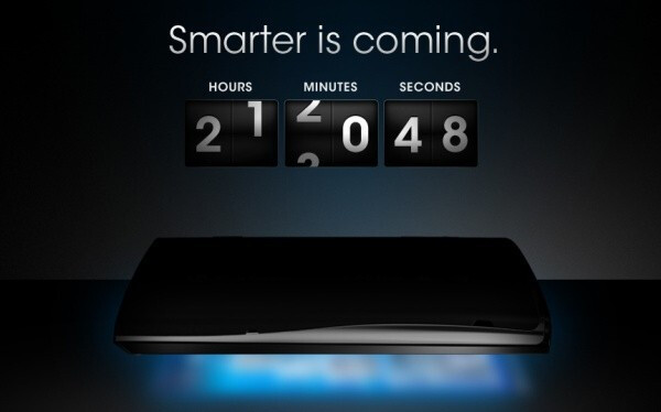 """Countdown commences for something """"smarter is coming"""" on Sony's site"""