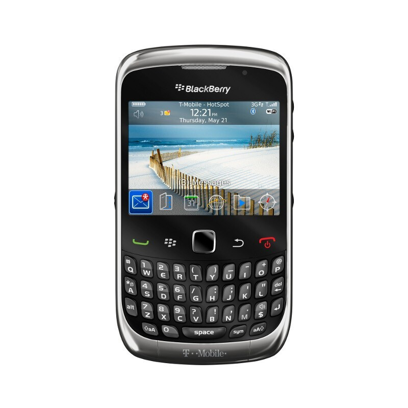 T-Mobile's Curve 3G graphite grey - BlackBerry Curve 3G launches and T-Mobile US is first to say first