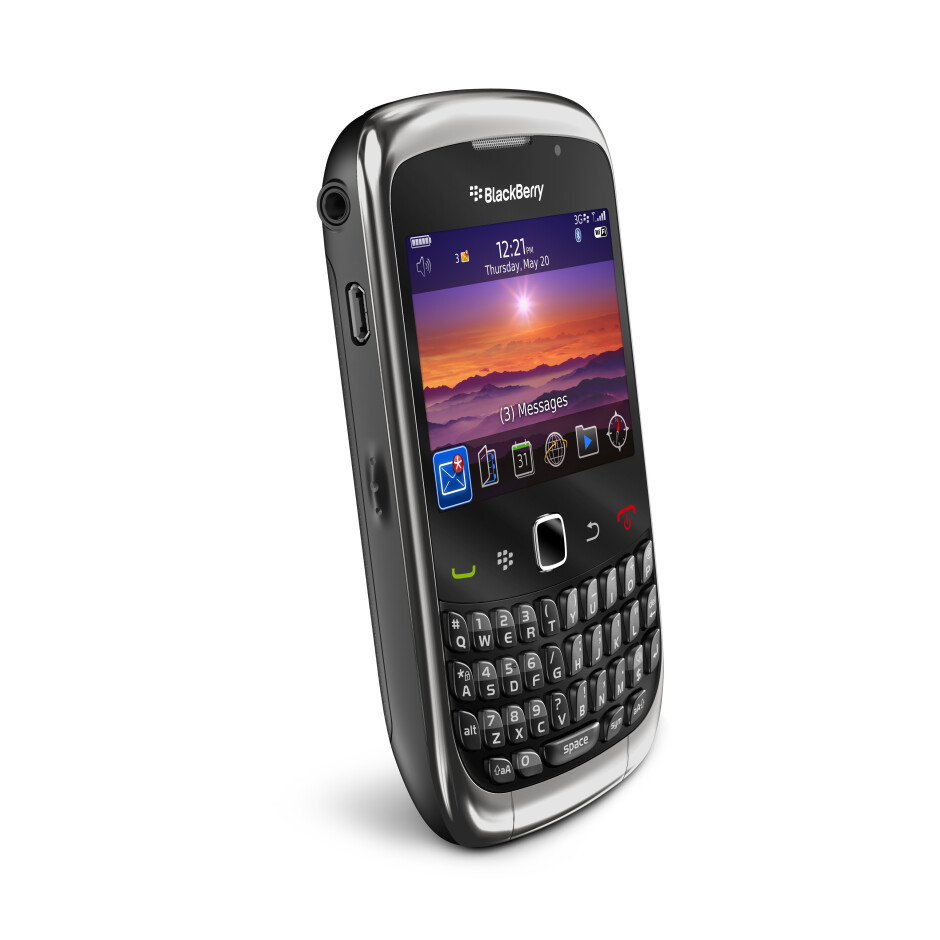 BlackBerry Curve 3G launches and T-Mobile US is first to say first