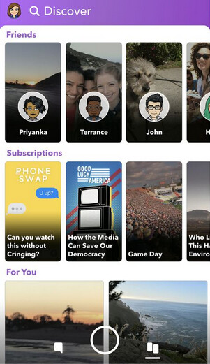 Redesigned Discover page for Snapchat's iOS app - Snapchat's redesign of its redesign now out for iOS users