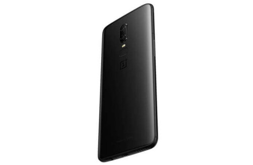 OnePlus 6 in Midnight Black and Mirror Black