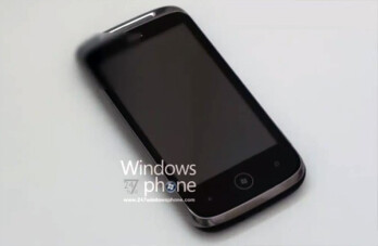 Aluminum uni-bodied HTC Schubert WP7 device captured on camera & video?