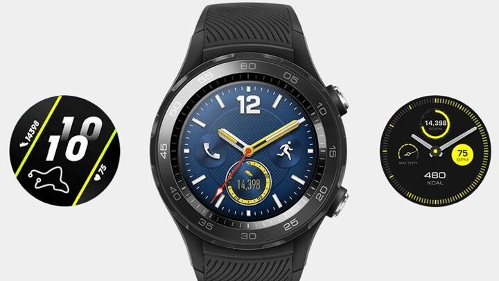 Huawei Watch 2 2018 leaks, looks mostly the same as the older model
