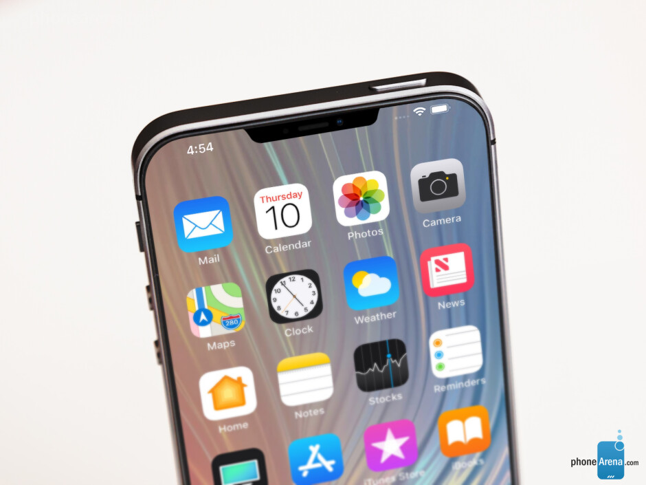This more angular notch actually goes along quite well with the rumored boxy design of the iPhone SE 2 - New iPhone SE 2 design images offer a glimpse at what could be