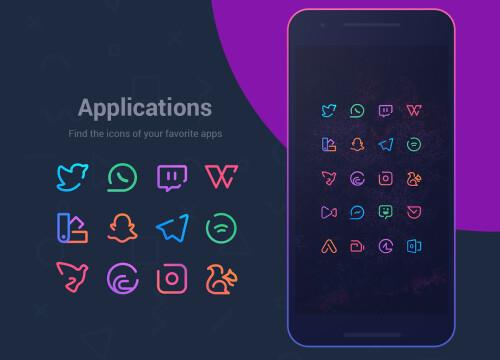 Beste neue Icon-Pakete für Android (April 2018)