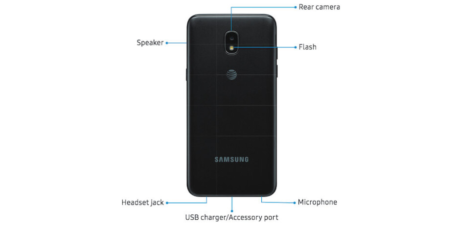 Samsung Galaxy Express Prime 3 for AT&T shows up in official renders
