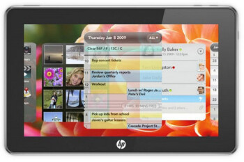 HP plans to release a webOS powered tablet in Q1 2011