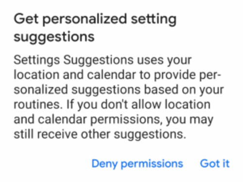 Android P might score predictive settings