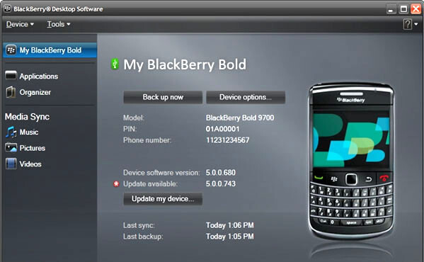BlackBerry Desktop Manager 6 for the PC is available for the taking - ready for the Torch