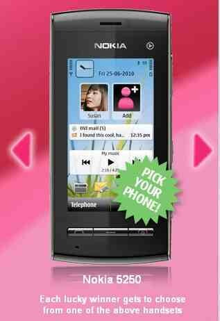 Rumored Nokia 5250