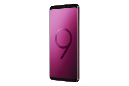 Galaxy S9 and S9+ in Burgundy Red and Sunrise Gold