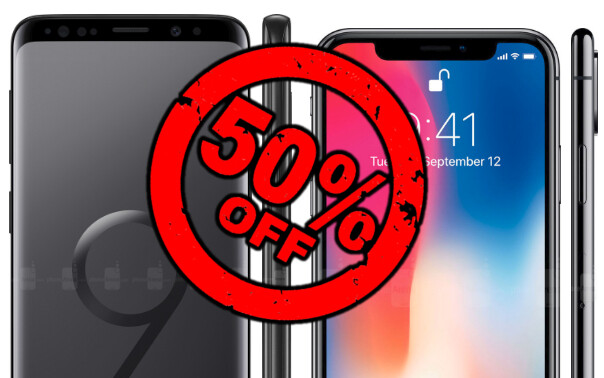 Generous: trade in your old phone with Verizon, get an iPhone X, Galaxy S9+, Pixel 2 for up to 50% off!