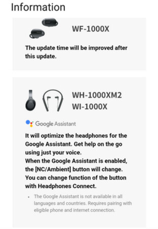 Sony has temporarily halted the update that adds Google Assistant integration to some of its headphones - Sony halts update that replaces Siri with Google Assistant on two headsets