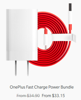 "OnePlus now refers to the accessory as the Fast Charge Power Bundle in its online store - Unable to trademark ""Dash Charge"" in the EU, OnePlus is apparently phasing out the name"
