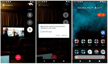 Google Duo erhält die Bildschirmfreigabe in der neuesten Version