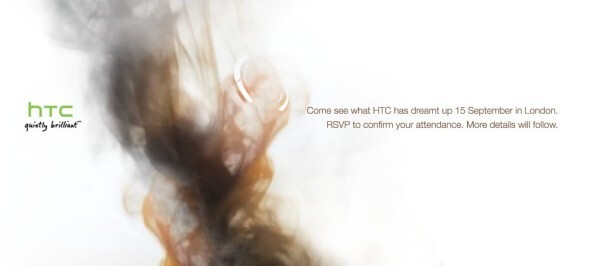 HTC sends out smokescreen invites for a September 15th press event