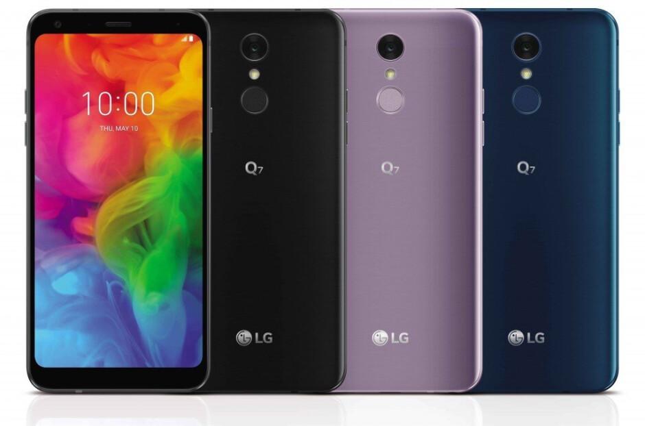 LG introduces three new smartphones with 18:9 screens: LG Q7, Q7+ and Q7α