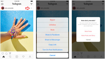 Very soon you will be able to mute Instagram accounts you don't want on your feed, but don't want to delete from the accounts you follow