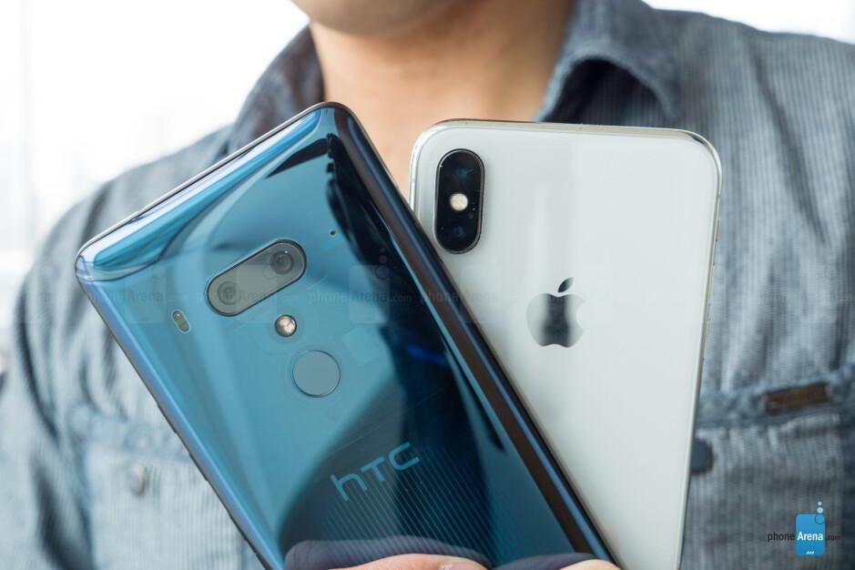 HTC U12+ vs Apple iPhone X: first look