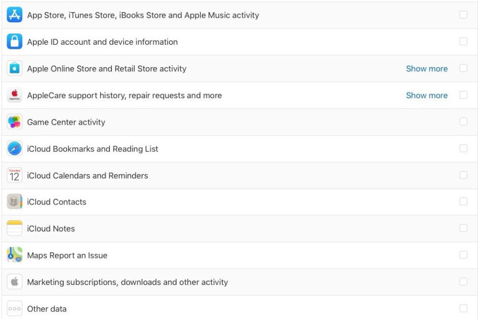 How to view and download all personal info Apple has on you
