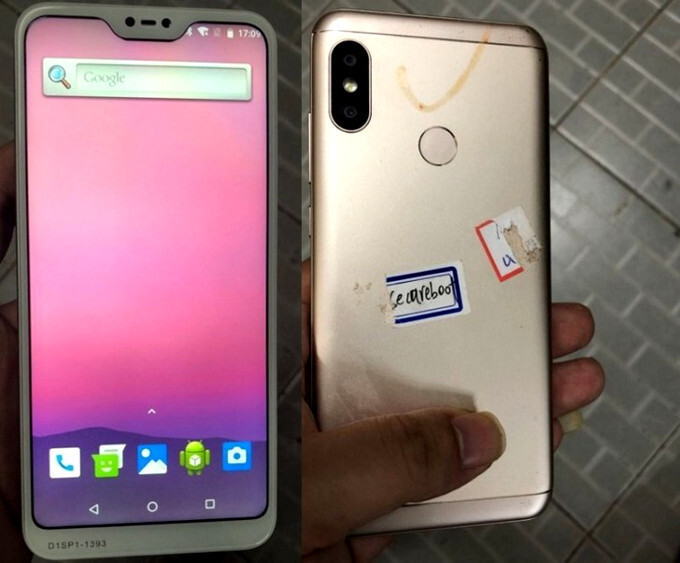 This Redmi 6 picture leak hints at Xiaomi notch takeover, specs in tow