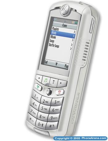 Motorola ROKR E1 - First iTunes phone announced