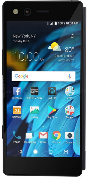 """The dual-screened ZTE Axon M - U.S. Senator: """"ZTE presents a national security threat to the United States"""""""