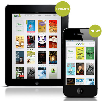 Barnes & Noble's Nook eReader app is expanded to the iPhone