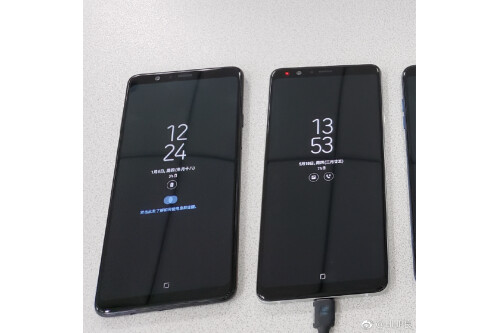 Samsung Galaxy A9 Star black and white variants