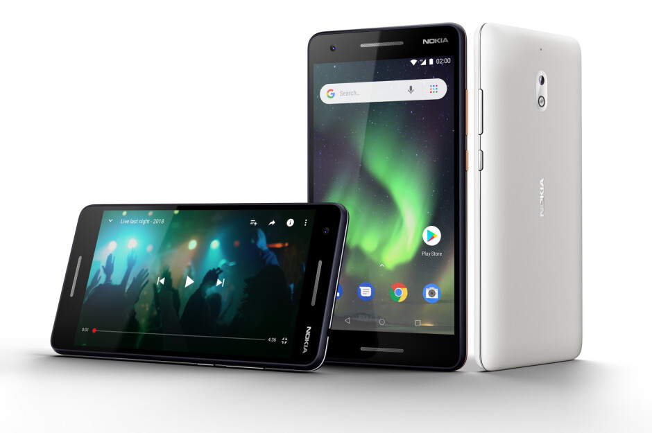 The new Nokia 2.1 has a huge, long-lasting battery - Nokia 5.1, Nokia 3.1, and Nokia 2.1 are announced: the purest of Android at an affordable price
