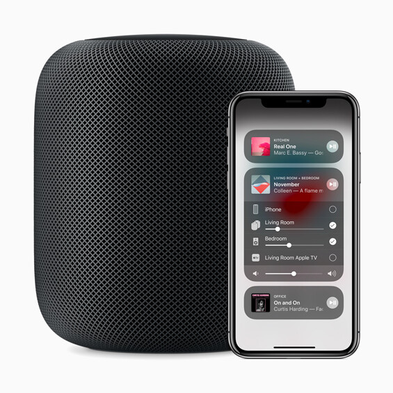 The Control Center allows users to play different songs in different rooms, change the volume and more - Apple releases iOS 11.4; update includes AirPlay 2 and Messages in iCloud