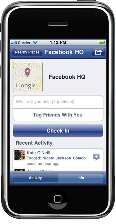 Facebook's Places beams your whereabouts for all sorts of purposes